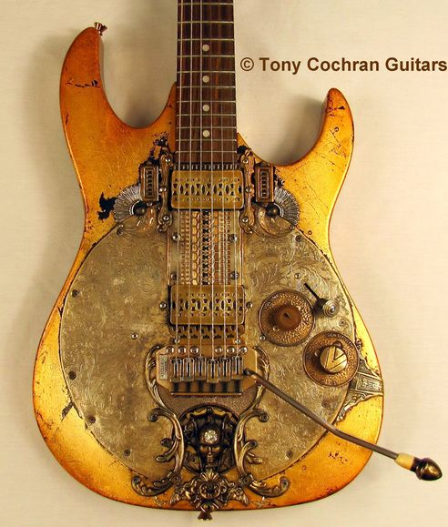 Rising Sun electric guitar by Tony Cochran Guitars - for Sale Picture