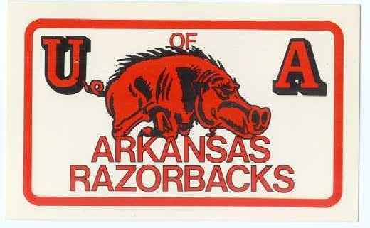 Arkansas Razorbacks Football Championships | 1964 Arkansas Razorbacks Roster