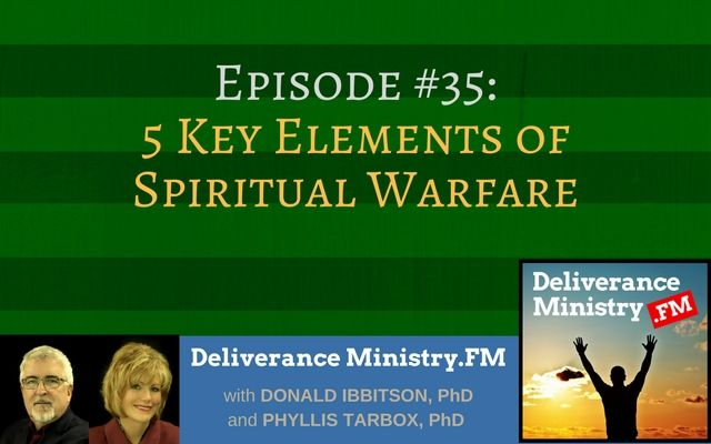 """This podcast is based upon an earlier article: """"What is Spiritual Warfare?"""" and gives an overview of the five main elements important to believers. We also talk about three common activities that are commonly associated with battling demons but actually are not.   Find our station on iTunes and subscribe. Leave Us A Review On iTunes and we'll send you a gift: Our """"Deliverance Ministry: Plain & Simple"""" e-manual ($19 value). No charge, just your honest opinion on iTune"""