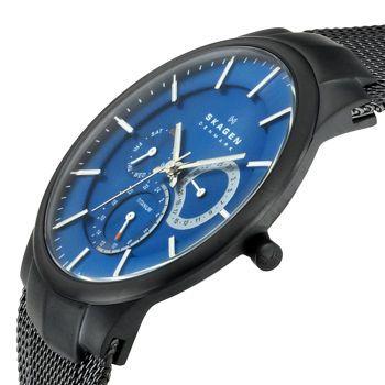 Skagen men's watch. Ultra-thin is the biggest trend now, I heard?