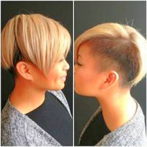 Amazing Shaved Hairstyles For Women shaved hairstyles for women ...