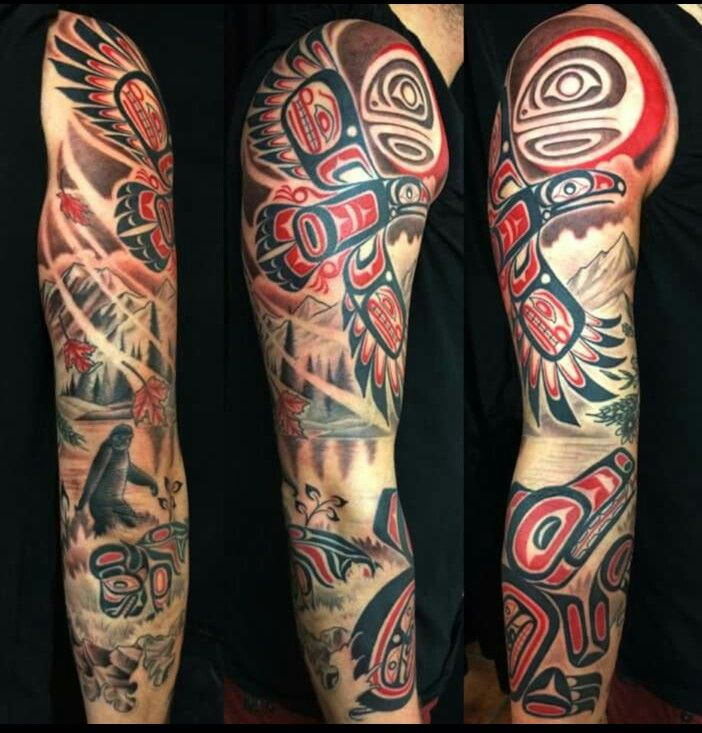 Haida Tattoo                                                                                                                                                                                 More