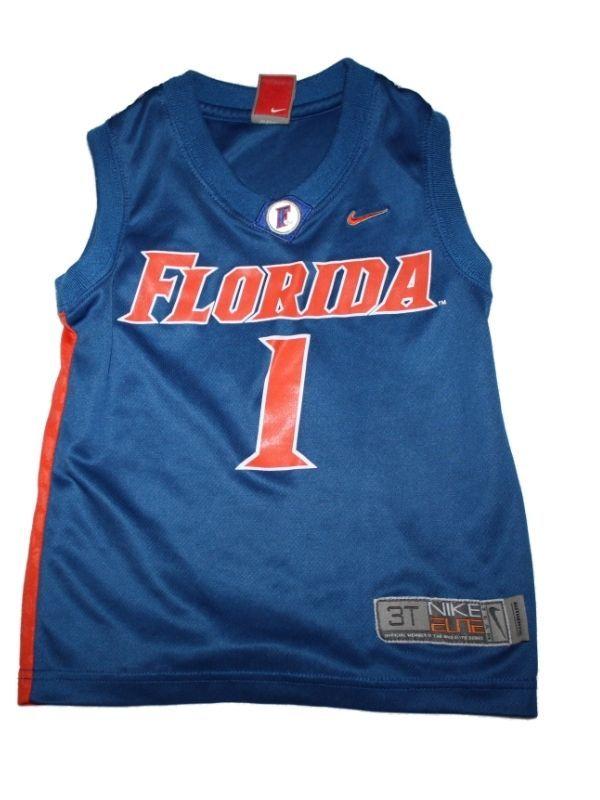 Toddler Boy Youth University of Florida Gators Basketball Jersey #1 Size 3T #Florida
