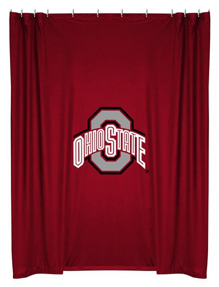 Make your Ohio State University NCAA themed bathroom match your team bedroom with this Ohio State Buckeyes Shower Curtain by Sports Coverage. This NCAA team shower curtains are made from our popular j