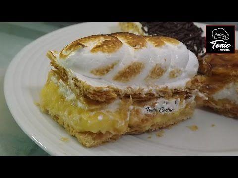 MERENGUE francés, italiano y suizo. Fácil y muy rico - Tonio Cocina - YouTube