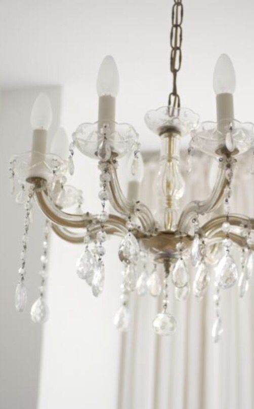 """This chandelier is from our feature """"Picture Perfect"""""""