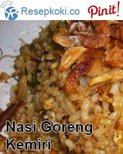 Resep Nasi Goreng Kemiri