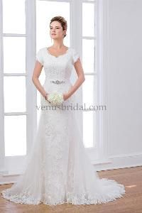 1000  images about Beautiful Modest Wedding Dresses on Pinterest ...