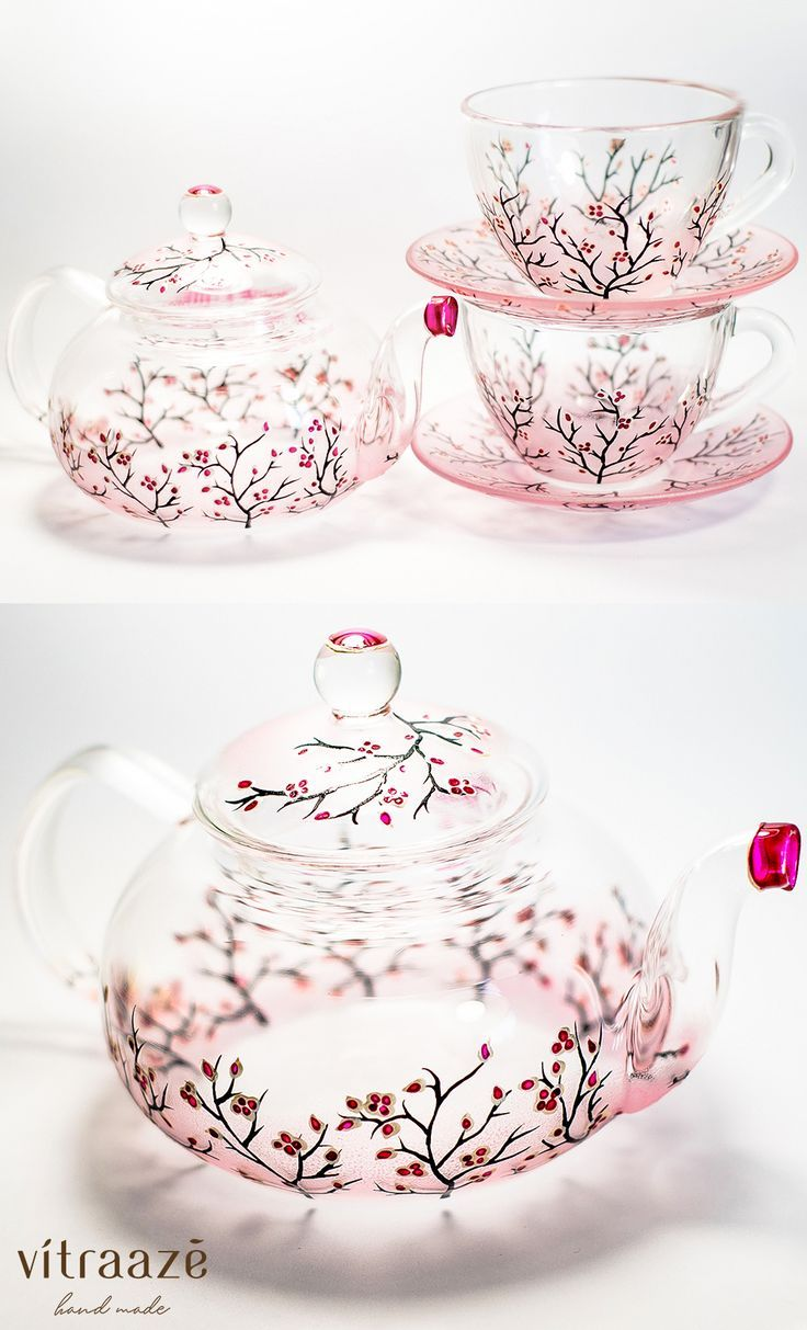Personalized Mother S Day Gift Tea Set Teapot With Cups And