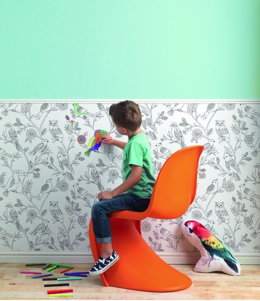 Fun wallpaper for the kids from our new Kids and Teens range