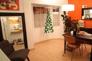 HOWTO create an invisible Christmas tree