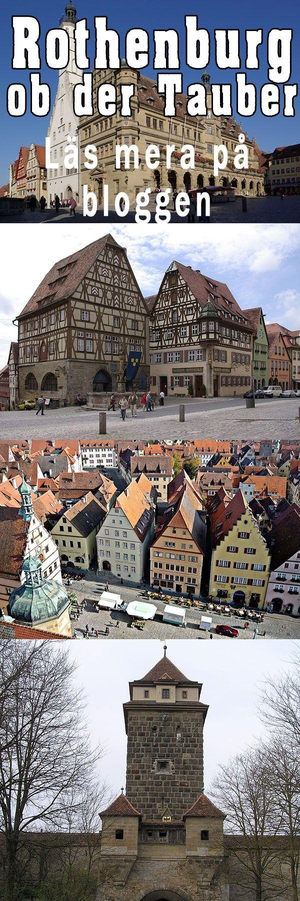 Tyskland - mitt i Europa - Bilturistens hemland enligt många. - Bilresa i Europa