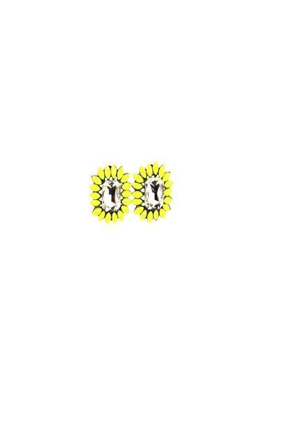 The Grand Earrings-AJ019-Yellow NZ$9.00 on Nzsale.co.nz
