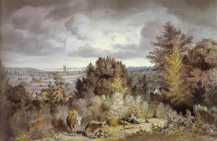 Dedham Church And Vale John Constable Wikipaintings