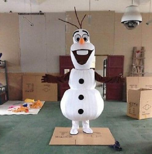 Hot Frozen Adult Olaf Snowman Mascot costume Fancy Dress Halloween Party Suit | Clothing, Shoes & Accessories, Costumes, Reenactment, Theater, Costumes | eBay!