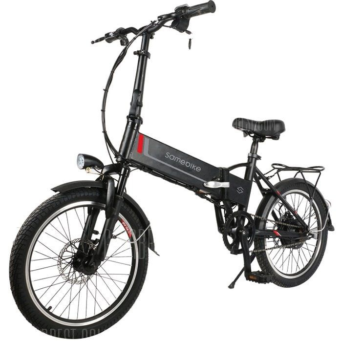 Just 544 16 Buy Samebike 20lvxd30 Smart Folding Moped Electric Bike Online Shopping At Gearbest Com Mobile Folding Moped Best Electric Bikes Electric Bike