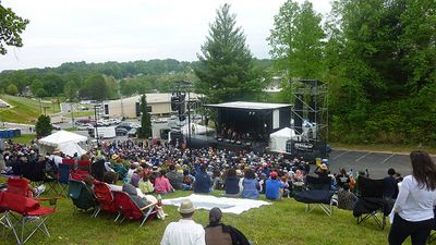 #Wilkes County is home to #MerleFest, an American roots and folk music festival that draws nearly 80,000 people. Read the Encyclopedia of NC article here, http://ncpedia.org/merlefest. #nccotw