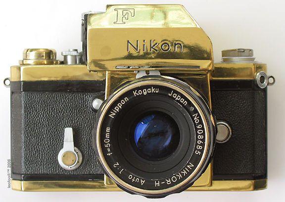 Gold Nikon F