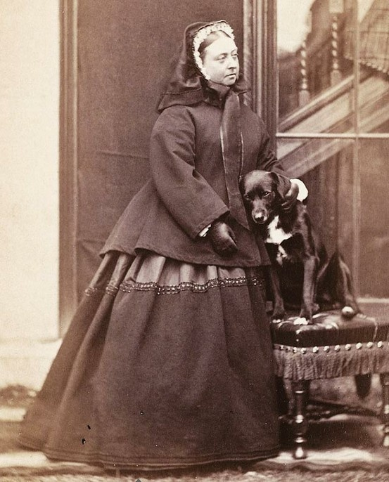 Queen Victoria and her dog Sharp