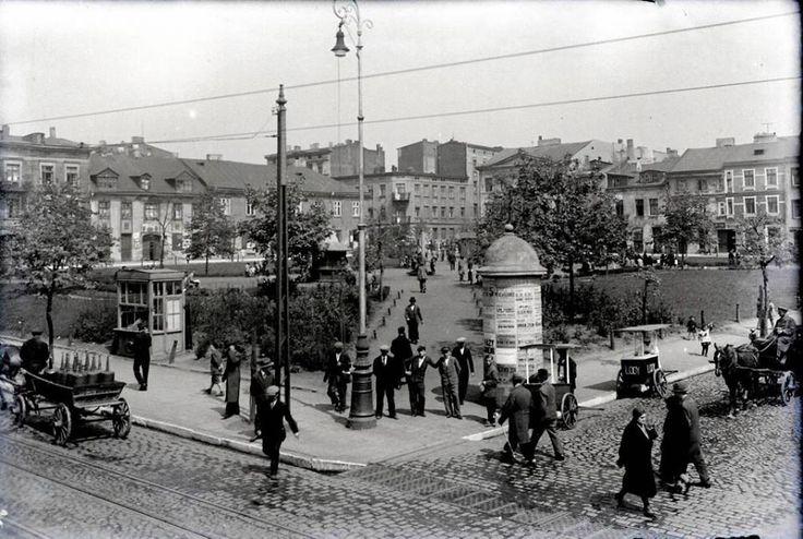 The Old Town, 1930, Lodz, Poland