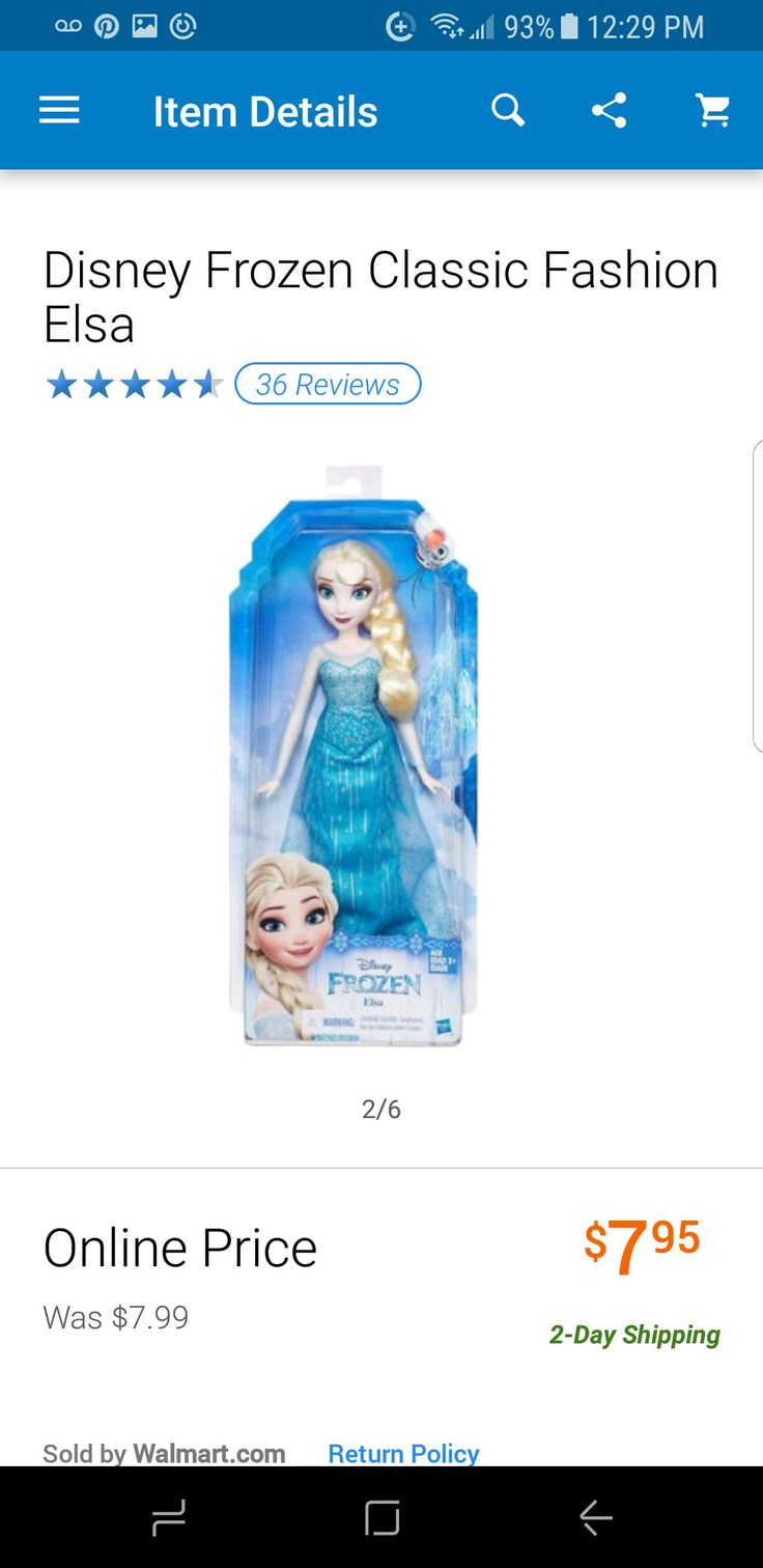 Elsa frozen doll