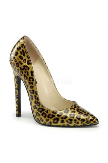 Chaussures de Mariée - Escarpins Vernis - Léopard - Accessoires Mariage Cérémonie Soirée