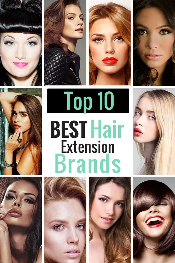 Looking for the Top 10 Best Hair Extension Brands in the industry?  We've got the top brands AND reviews to help you choose a brand that works best for YOU!