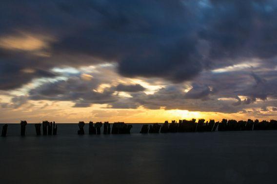 Nieuw in mijn Werk aan de Muur shop: Wolken jagen op de zon
