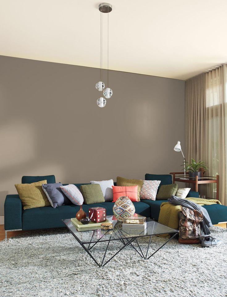 outstanding mega greige living room | dutchboy worn greige in 2019 | Living room decor ...