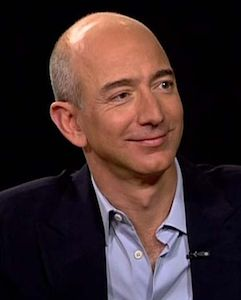 #2 Jeff Bezos 2016 Forbes 400 Net Worth $67 Billion  CEO and Founder, Amazon.com Age	53 Source Of Wealth	Amazon.com
