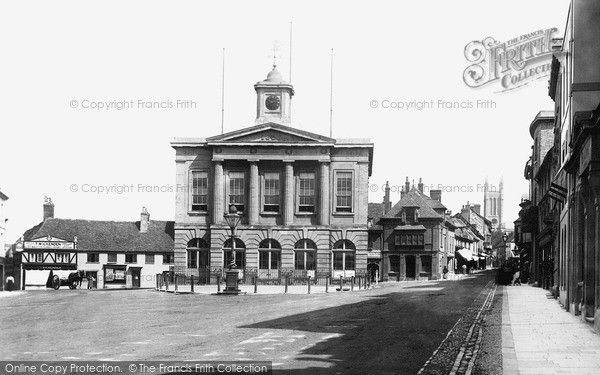 Andover, Town Hall 1898, from Francis Frith
