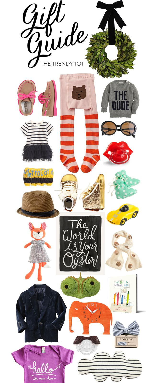 A Gift Guide for The Trendy Tot!