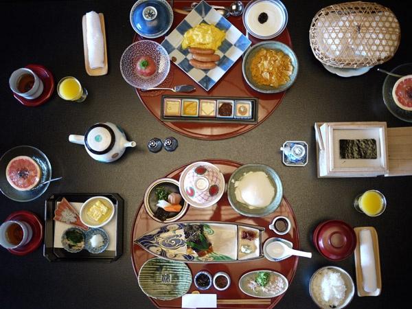 eastern & western breakfasts