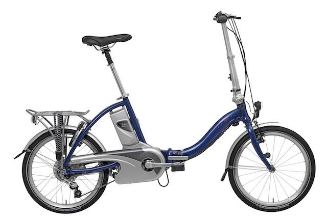 Flyer - Faltrad folding e-bike. 8 speed hub and over 60km range