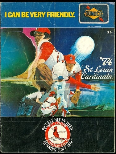1974 St Louis Cardinals Game Program vs Cubs not Scored VG | eBay