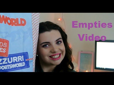 Empties Video - YouTube