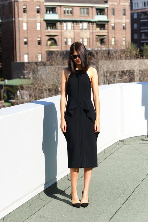 stunning back LBD (Rachel Comey)