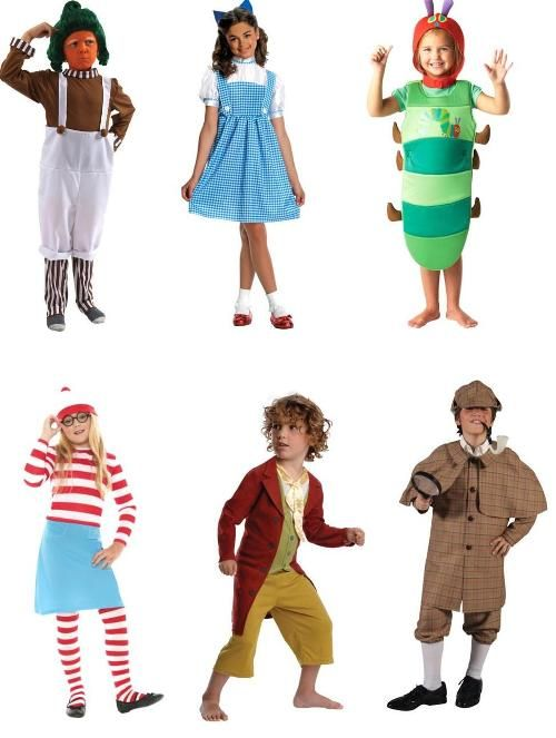 World Book Day - Lots of ideas for Childrens Book Characters