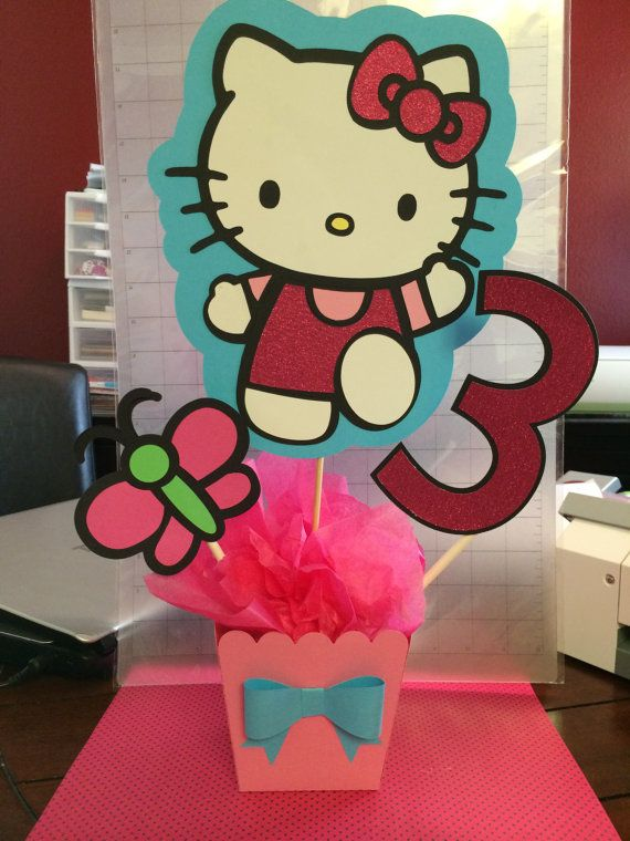 Hey, I found this really awesome Etsy listing at https://www.etsy.com/listing/188511195/hello-kitty-centerpiece
