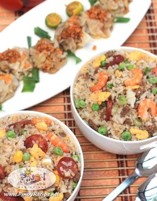 Yang Chow Fried Rice Filipino Recipe
