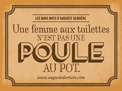 Humour d'Auguste Derriere                                                                                                                                                                                 Plus