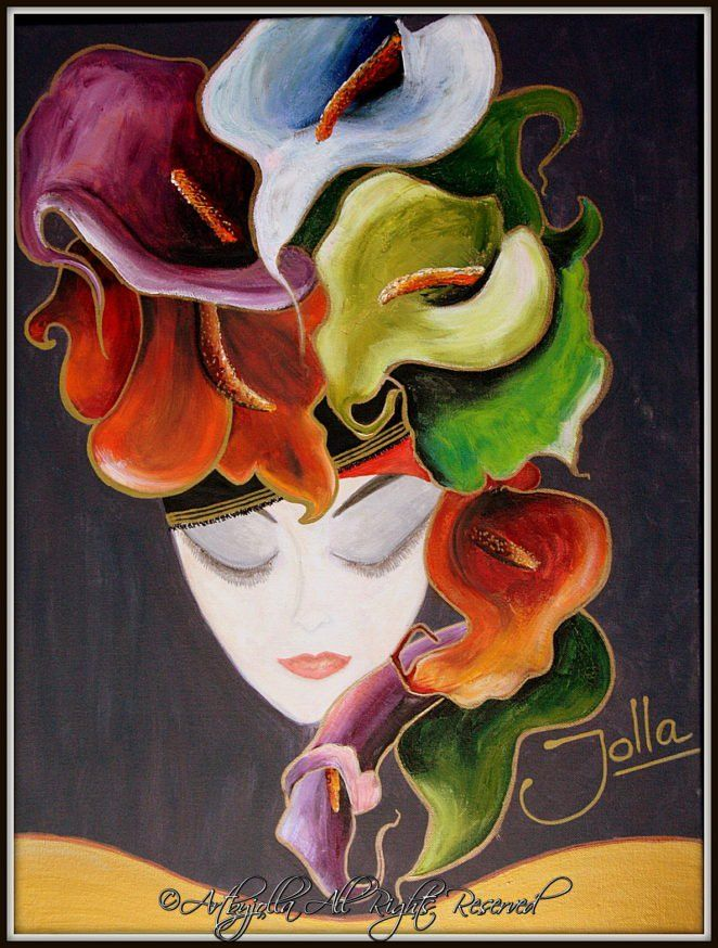 Calla lily dame..by ©Artbyjolla