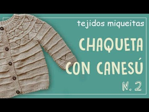 Chaqueta con canesú no. 2 - YouTube