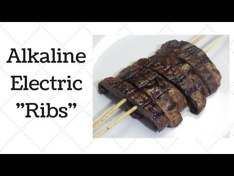 "Alkaline Electric Vegan ""Ribs"" – Ty's Conscious Kitchen"