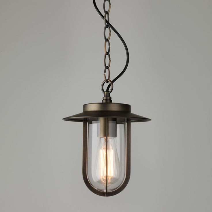 Buy this Astro Lighting Montparnasse Bronze Pendant with Clear Glass for Exterior Lighting, IP44 Hanging Lamp AX7867 online from Sparks Direct at our low price of £187.50. Archway, London UK.