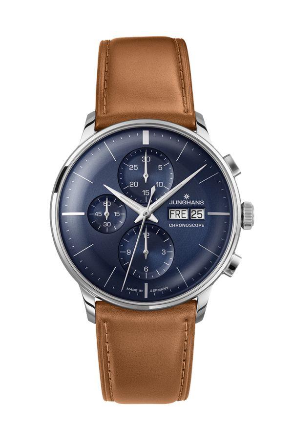 Ref. Nr. 027/4526.00 - Seit 1936 steht das Prädikat Meister für den klassischenUhrenbau bei Junghans. Dieser Tradition folgend entstehen die heutigen Meister Uhren durch Leidenschaft für Präzision und ausgeprägtes Qualitätsbewusstsein.