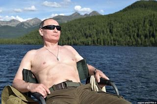 Badrosblog | Nigeria's best online portal to Read Entertainment News: Russian President, Vladmir Putin goes shirtless in...