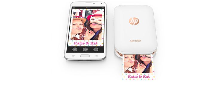HP Sprocket Portable Photo Printer | HP® Official Site