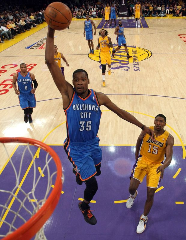 FULL Highlights in HD! Kevin Durant (31 Pts, 13 Reb) & Russell Westbrook (37 Pts, 5 Ast) vs. Lakers – GAME 4