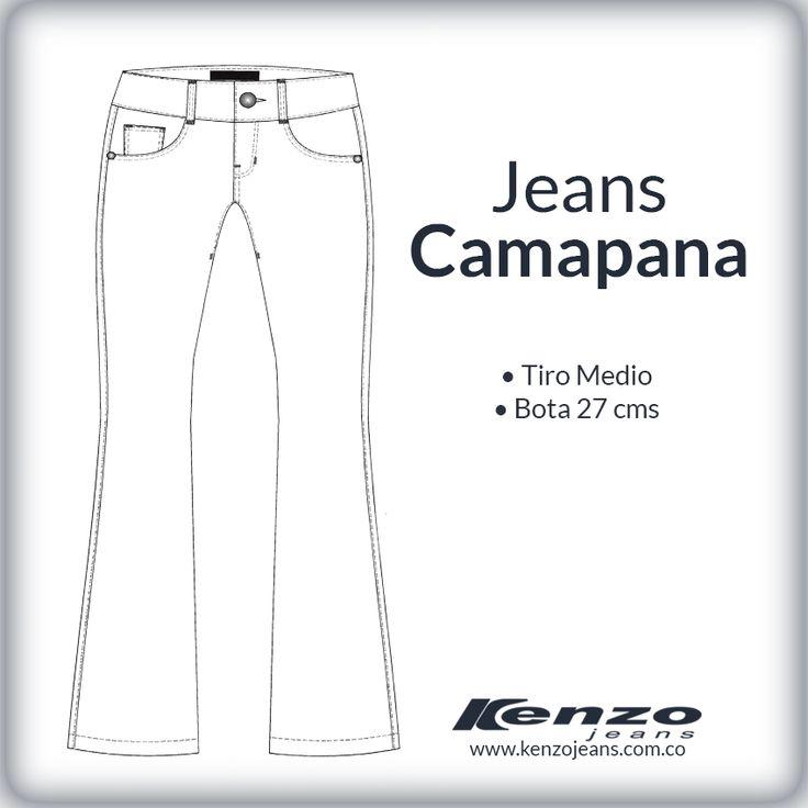 Perfectos para mujeres con piernas largas y tonificadas, son una pieza clave del estilo bohemio y para esta temporada regresan con fuerza. #KenzoJeans www.kenzojeans.com.co/fits/